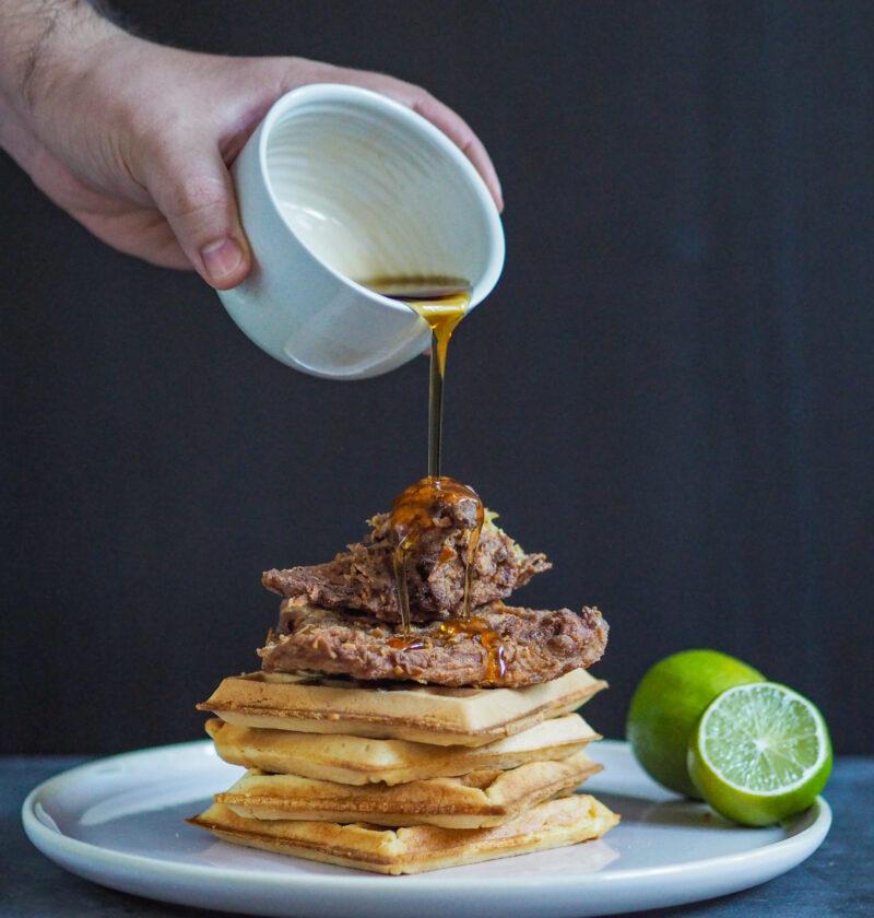 Vegan Chicken & Waffles recipe