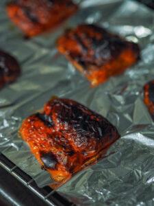 Papryka po grillowaniu