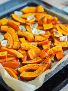 Warzywa po upieczeniu